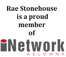 Rae is a proud member of iNetwork Kelowna. Visit as a guest and check it out.