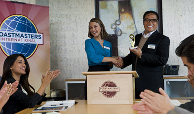 Ever been to a Toastmasters meeting? You should!