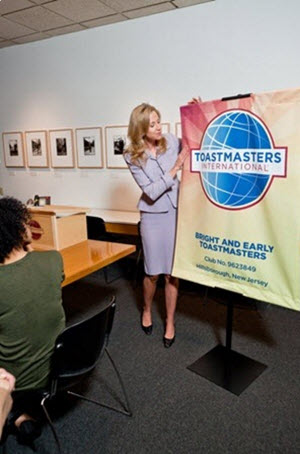 Toastmasters in action! Have you visited a club yet?