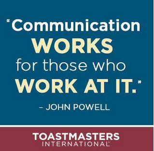 Communication Works for those who work at it