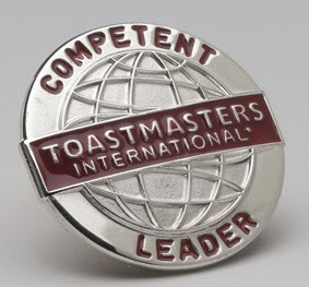 Toastmasters International Competent Leader Pin