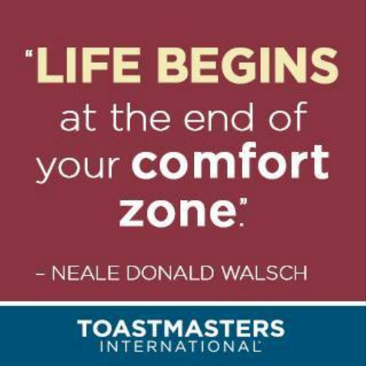 Life Begins at the end of Your Comfort Zonev2