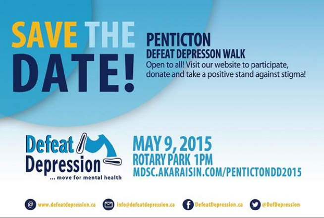 Penticton Defeat Depression Walk