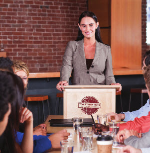 Visit a Toastmaster meeting today!